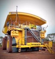 ブラジル大手鉱山のヴァーレに収める超大型無人ダンプトラック