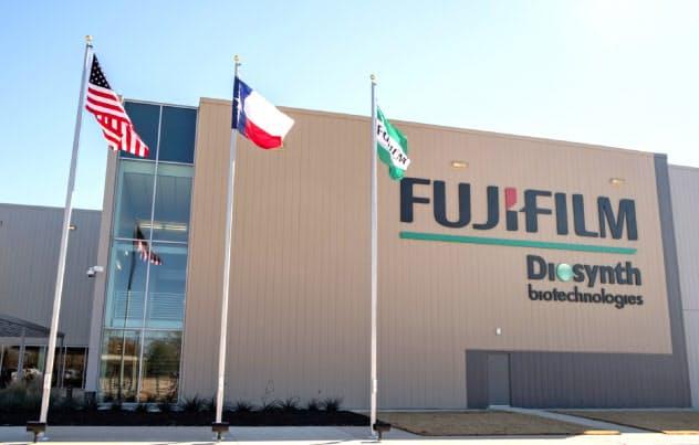 富士フイルムはバイオCDMO事業で遺伝子治療分野の設備を増強する(米テキサス州の拠点)