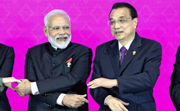 インドはRCEP交渉離脱の可能性を示唆した=AP