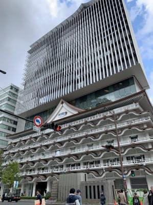 建築家の隈研吾氏が設計を手掛けた(大阪市)