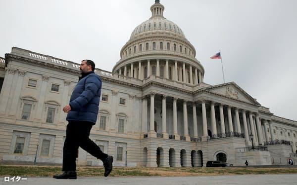 米議会は「ねじれ議会」なだけに与野党は妥協点を探る調整が不可欠だが…=ロイター