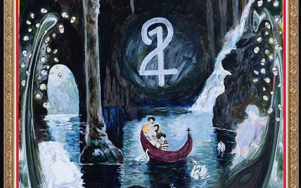 横尾忠則「2:1」(2000年ごろ、作家蔵)