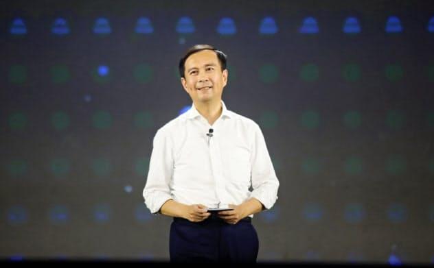 ジャック・マー氏の後継者となった張会長兼CEO(アリババ提供)