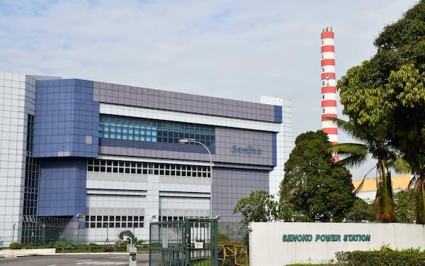 シンガポール北部にあるセノコ・エナジーの発電所