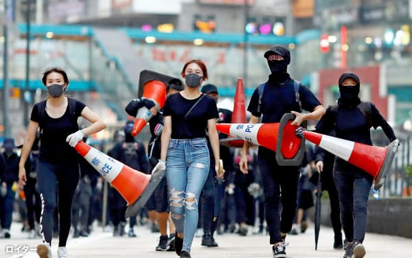 米議会は香港当局と中国政府に厳しい姿勢を示す=ロイター