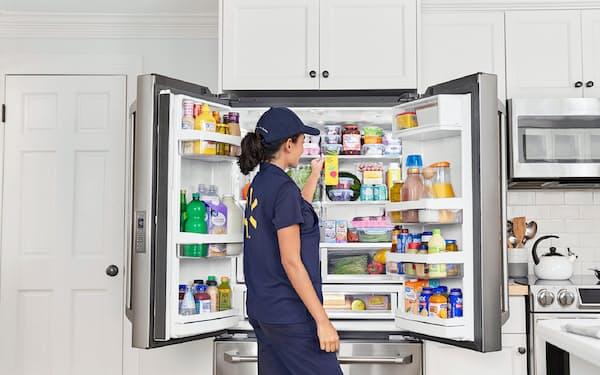 ウォルマートは顧客の冷蔵庫まで直接、生鮮品を届けるサービスを開始