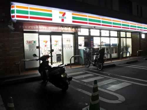 セブンは深夜休業の実験も実施している(東京都足立区の店舗)