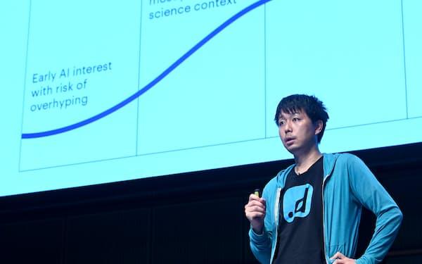 NECトップ技術者の藤巻氏は会社が支援し米国で起業した(東京都千代田区)