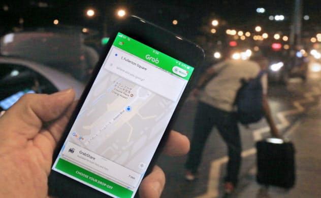 グラブ配車アプリ、日本でも 訪日客の移動スムーズに