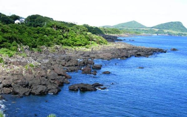 複雑な海岸線が特徴の景勝地、鐙瀬地区に高級ホテルを建設する