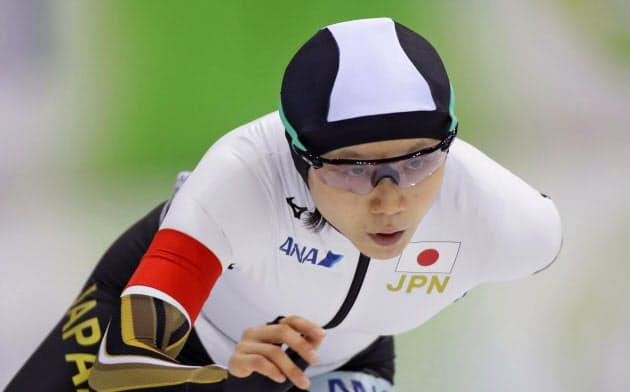 女子3000メートルで10位だった高木美帆(15日、ミンスク)=AP