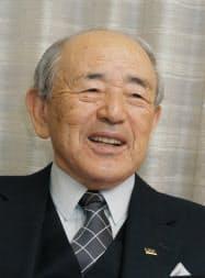 ヨネックス創業者の米山稔氏(2005年3月撮影)