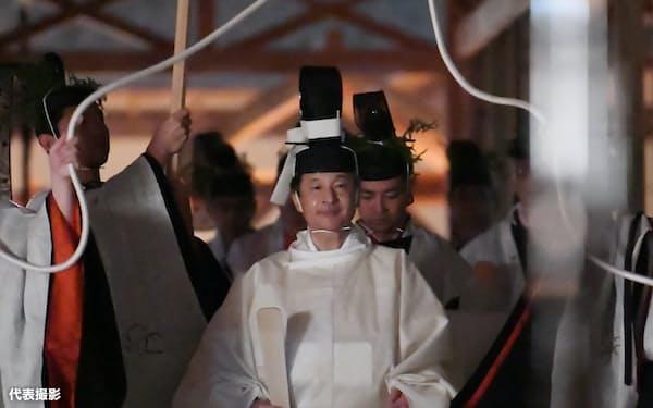 大嘗祭が終わり、即位に関する儀式は一段落した