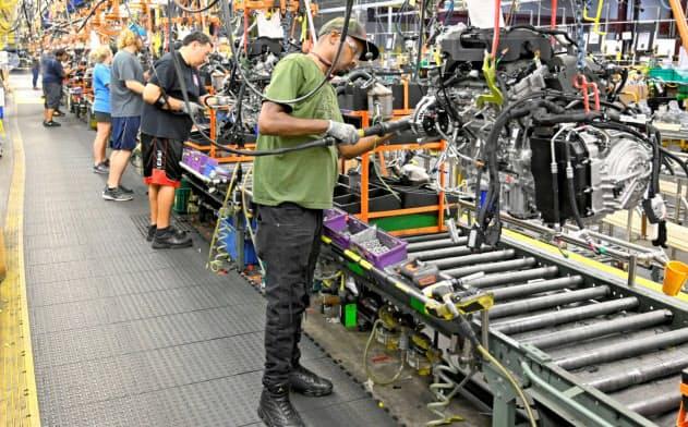 日米欧の自動車大手、7万人削減 リーマン時に迫る