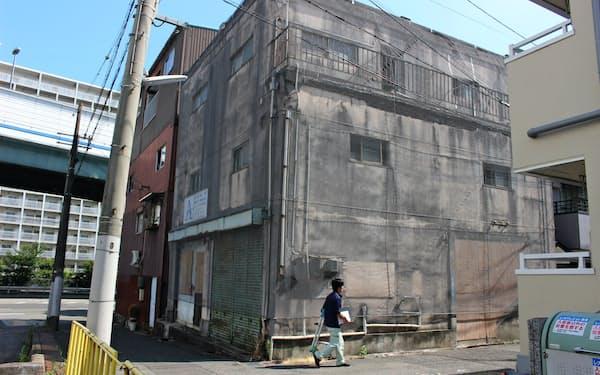 都市部でも現在の所有者が把握できない物件がある(神戸市中央区の土地と建物)
