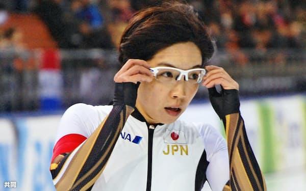 女子1000メートルで6位の小平奈緒=(17日、ミンスク)=共同