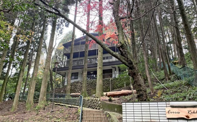 六甲山は自然に恵まれ保養施設が多い(神戸市)