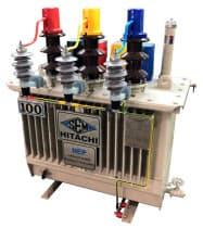 日立産機システムの配電用変圧器