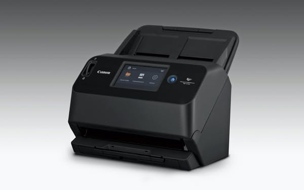 キヤノンマーケティングジャパンが11月下旬に発売するA4ドキュメントスキャナー「イメージフォーミュラ DR-S150」