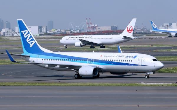 羽田の国際線発着枠の拡大で、成田と羽田の位置付けが変わりそうだ(羽田空港)