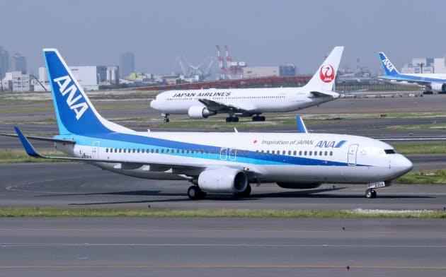 日系航空の欧米路線数、羽田が成田を逆転