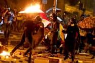 ポンペオ米国務長官は独立機関による暴力事件の調査を香港当局に求めた=ロイター