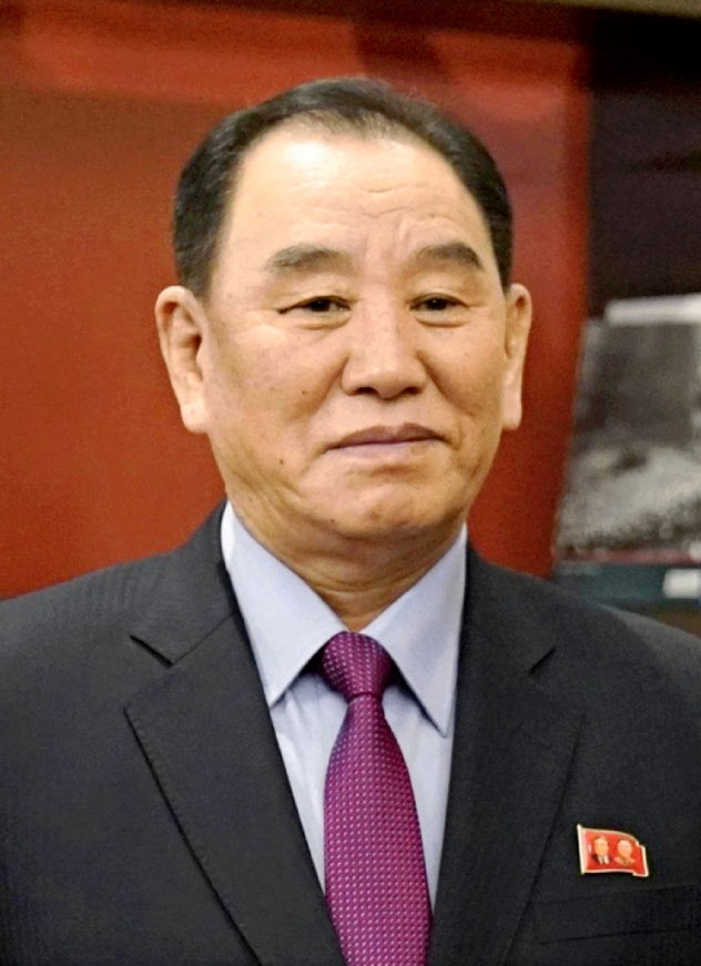 北朝鮮の金英哲朝鮮労働党副委員長=ロイター