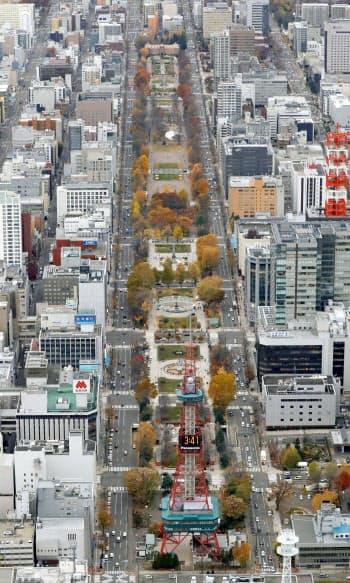 札幌市の大通公園