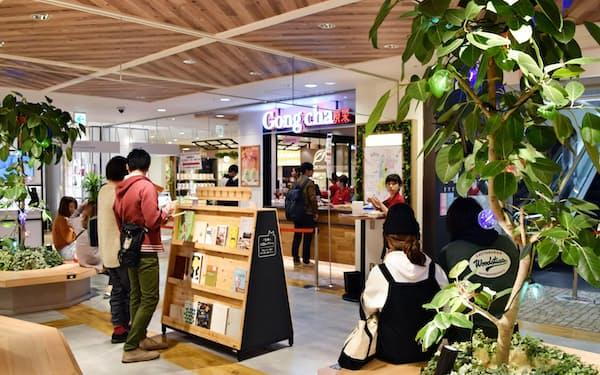 松坂屋名古屋店の2階にオープンした販売フロア「キキヨコチョ」(名古屋市中区)