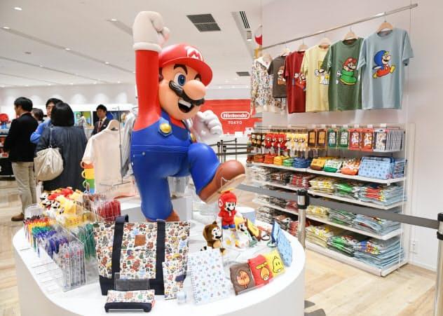 国内初の公式グッズ店「ニンテンドートウキョウ」を22日に開業する(19日、東京都渋谷区)