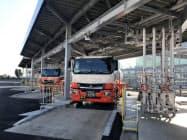 ガス充填設備を刷新した(名古屋市港区)