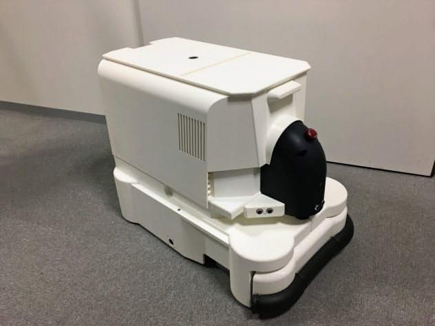 東京都立産業技術研究センターなどが開発した清掃ロボット