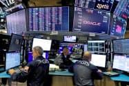 ニューヨーク証券取引所=ロイター