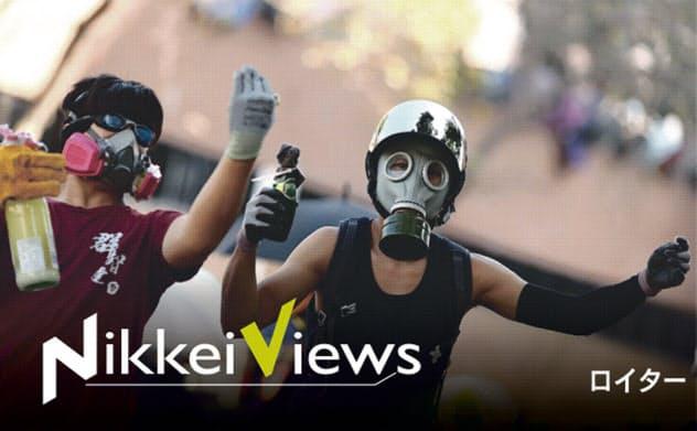 香港人権法案可決 トランプ氏の対中外交に踏み絵
