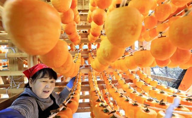 被災地にオレンジ色の輝き