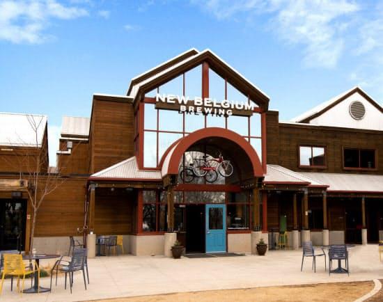 ニュー・ベルジャン・ブルーイングは全米に販売網がある(コロラド州の工場)
