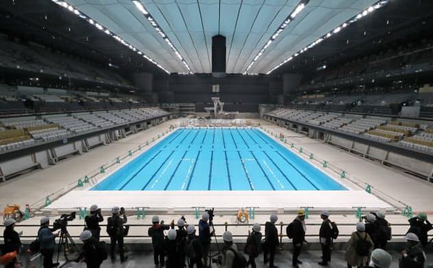 水泳・バレーボール会場の内部初公開 東京五輪