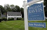 米中古住宅販売は10月、前月比1.9%増加した=AP