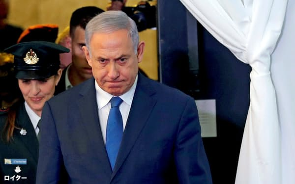 イスラエルのネタニヤフ首相=ロイター