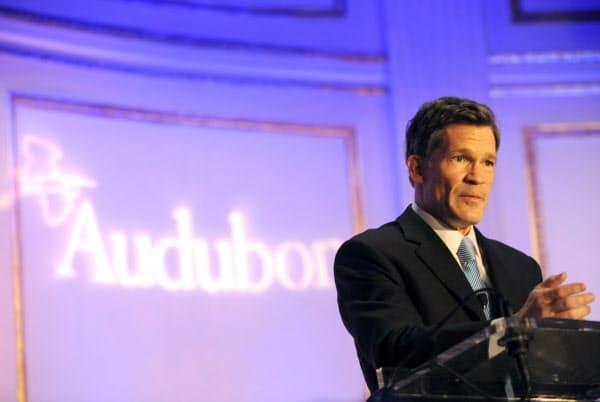 ムーア・キャピタル・マネジメント創業者のルイス・ベイコン最高経営責任者(CEO)=AP