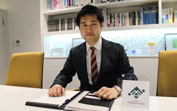 北海道M&A協会の荒木俊和代表理事