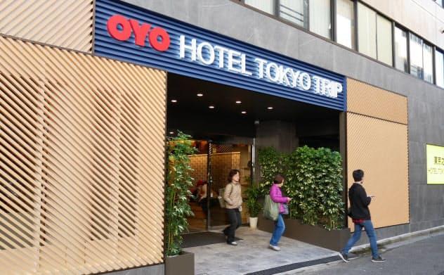 「OYO HOTEL TOKYO TRIP」(東京・荒川)は外国人観光客でにぎわう
