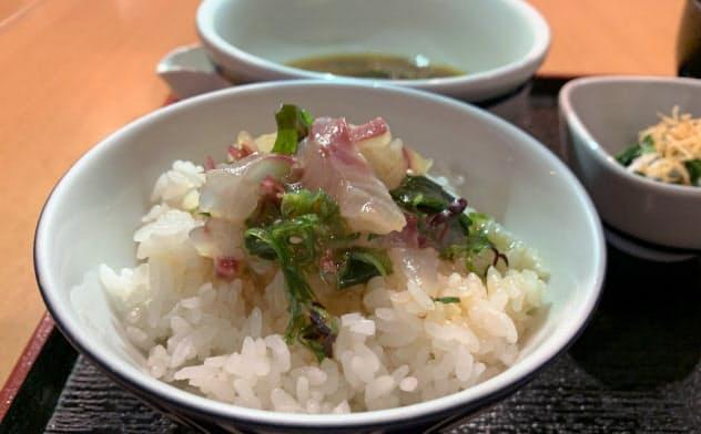丸水の宇和島鯛めしは、しょうゆや米も愛媛産にこだわる(松山市)