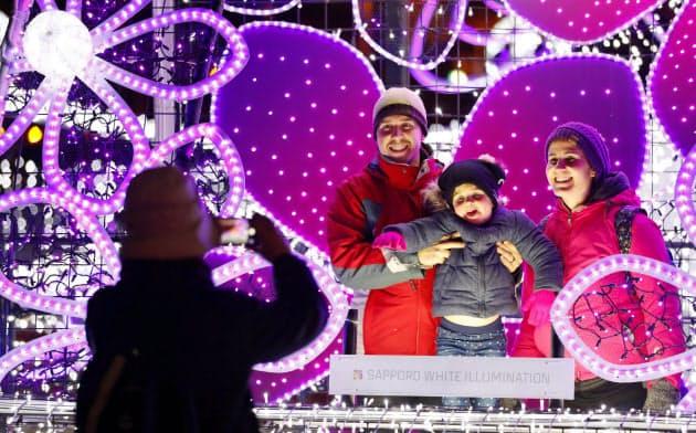 81万の光、札幌の冬を彩る