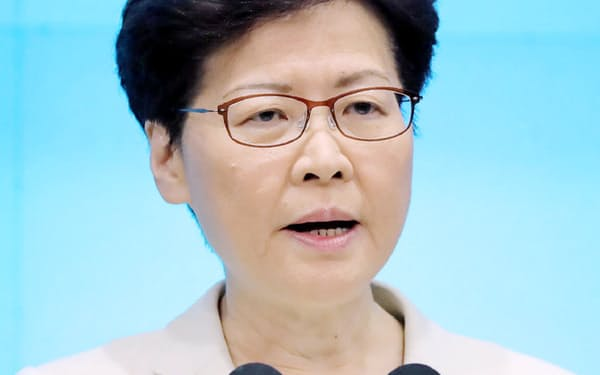 香港政府の林鄭月娥行政長官