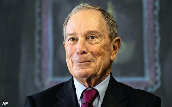 ブルームバーグ氏は米有数の富豪として知られる=AP