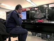 前橋市は救急搬送時に5Gを使う実験を行っている(2月、前橋市役所)