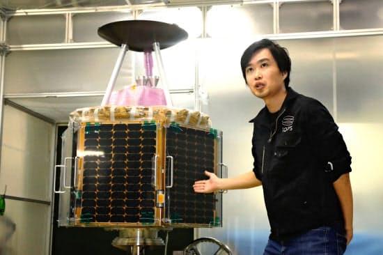 QPS研究所は小型衛星で地上の車や人の動きを観測し、データ化する