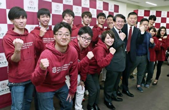 九州大学起業部出身の学生社長ら