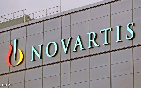 スイス製薬大手ノバルティスも米社買収に動いた=ロイター